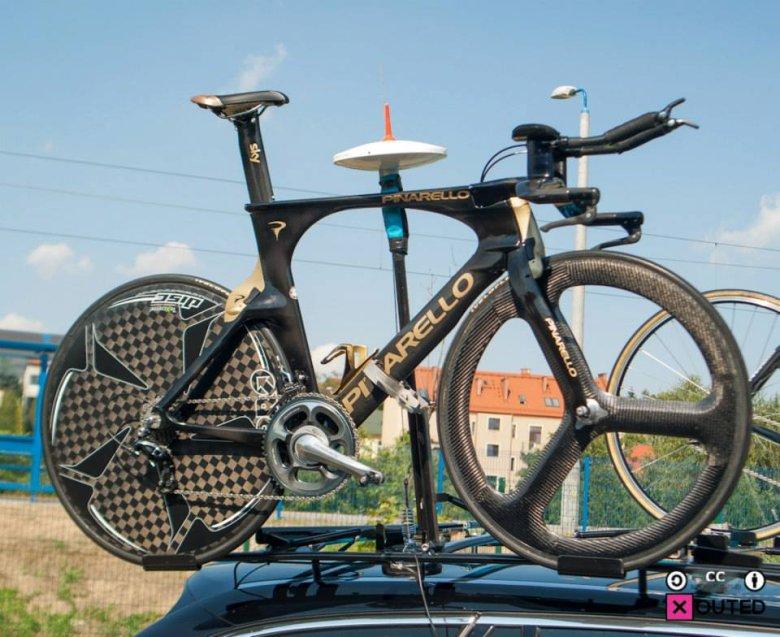 Rower do jazdy na czas Bradleya Wigginsa. Drużyna Sky jest liderem w poszukiwaniu nowatorskich rozwiązań technologicznych i treningowych