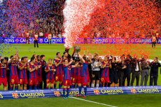 Mistrzowski tytuł Barcelonie zagwarantował remis Realu z jej lokalnym rywalem, Espanyolem Barcelona. To 22. mistrzostwo w historii.