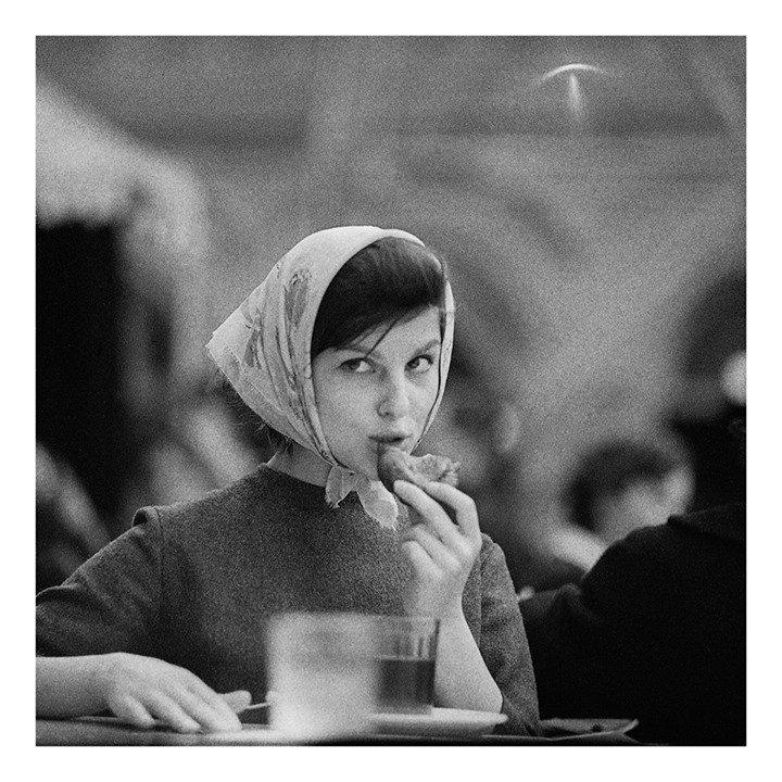 Na zdjęciu: Tadeusz Rolke, Moskwa 1960, 30x30cm