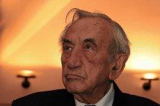 Były premier Tadeusz Mazowiecki.