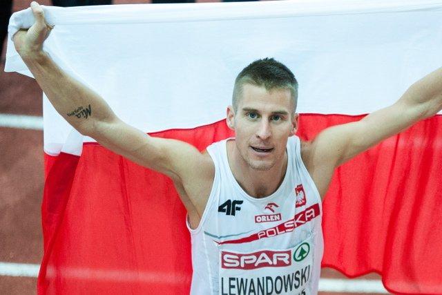 Marcin Lewandowski, srebrny medal  w Amsterdamie