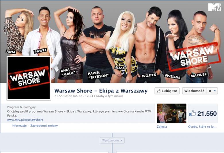 Ekipa z Warszawy, czyli Warsaw Shore.