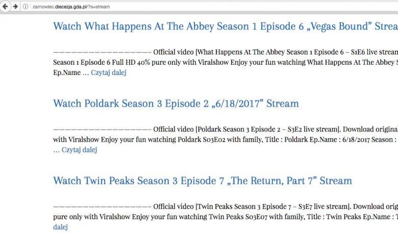 Lista filmów i seriali do oglądania nie do końca legalnie ma aż 4 strony.