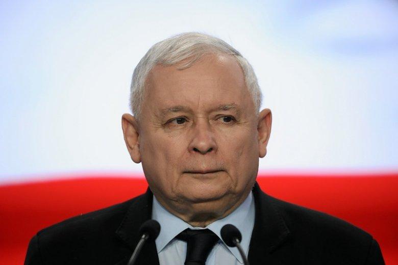 Jarosław Kaczyński nie potrafił ukryć frustracji po przegranej w Senacie.