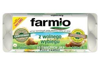 Jajka z wolnego wybiegu Farmio