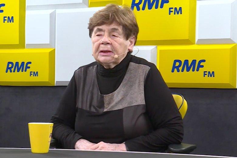 Zofia Romaszewska zaskoczyła swojąopinią o Marszu Niepodległości.