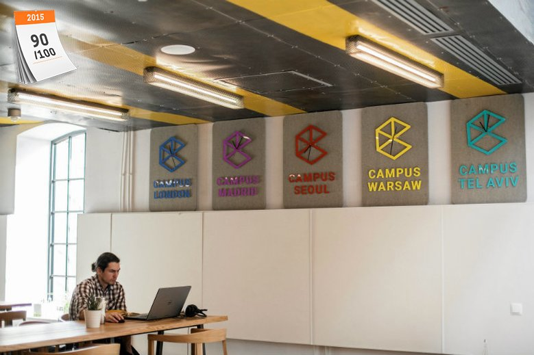 Campus Google'a na warszawskiej Pradze to jeden z najbardziej znanych startupowych inkubatorów w Polsce