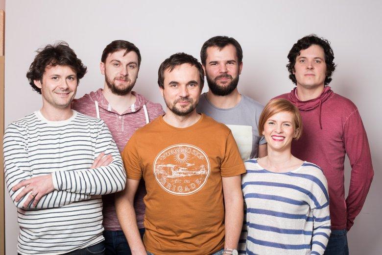Od lewej: Julien Zakoian, Michał Borkowski (co-founder), Łukasz Wiewiórowski (Head of International Growth), Krzysztof Dobrzyński, Patrycja Szostakowska, Jason Green (CTO).