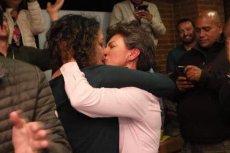 Claudia Lopez zwycięstwo w wyborach świętowała ze swoją narzeczoną.