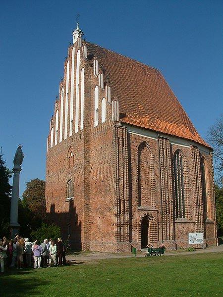 Miejsce, gdzie znajdowało się palatium Mieszka I w Poznaniu.
