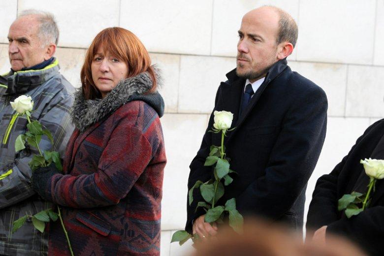 Wśród żałobników zgromadzonych w Krakowie na pogrzebie Piotra Szczęsnego można było zauważyć wielu polityków. W tym wiceszefa PO Borysa Budkę.