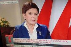 Szydło dyscyplinuje ministrów. Tak bardzo ubodło ją parę szczerych słów jednej z niewielu chwalonych postaci w rządzie