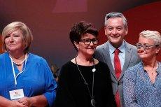 Na Kongresie Kobiet Jolanta Kwaśniewska dość wymownie odpowiedziała pytanie o Agatę Kornhauser-Dudę.