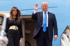W lipcu do Polski przyleci Donald Trump. Prezydentowi USA będzie towarzyszyć żona Melania.