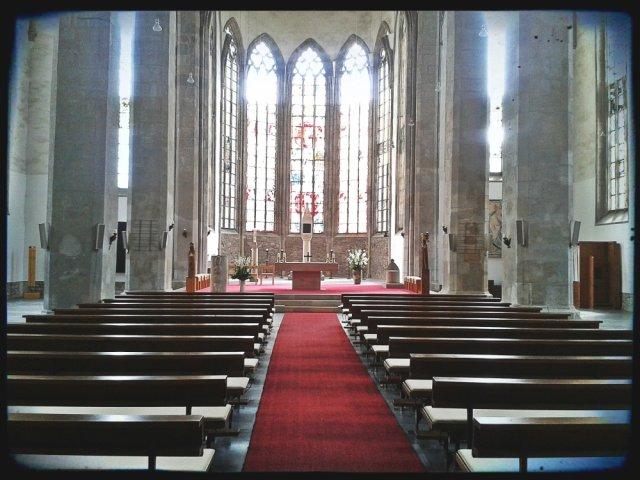 Katolicki kościół św. Piotra w Magdeburgu.
