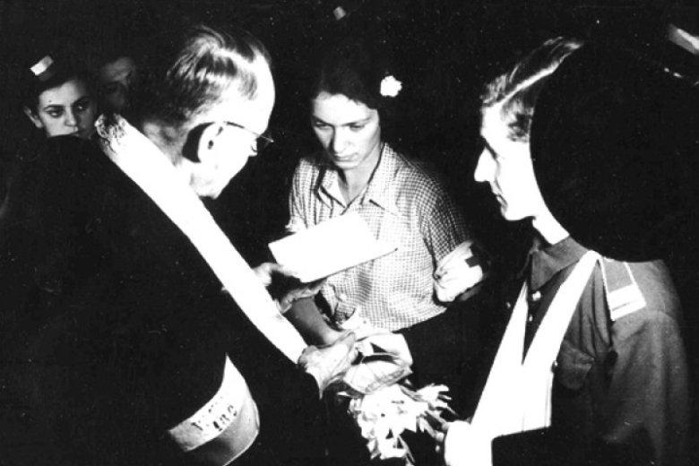 Najsłynniejsze małżeństwo Powstania Warszawskiego – Bolesław (Bill) Biega i Alicja (Lilly) Treutler-Biega.