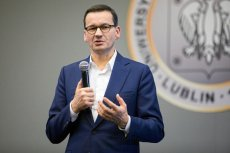 Mateusz Morawiecki skrytykował Emmanuela Macrona za wypowiedź odnośnie NATO.