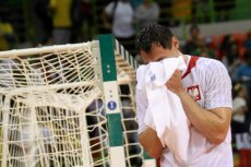 Krzysztof Lijewski po meczu o brązowy medal Polska - Niemcy na Igrzyskach olimpijskich w Rio.