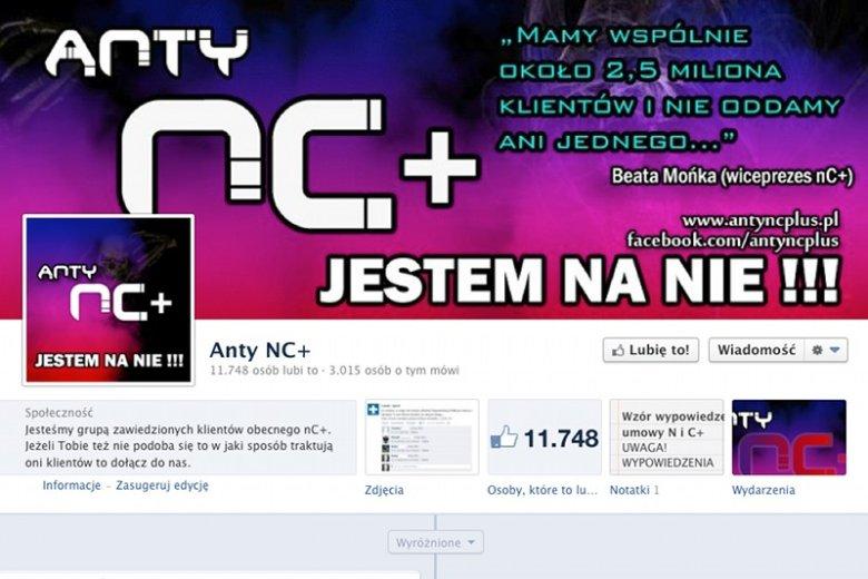 """Profil """"antync+"""" ma ok. 11 tys. fanów – to jedna trzecia liczby fanów oficjalnego profilu marki."""