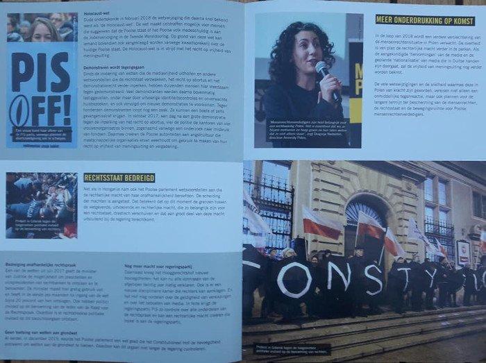 Z broszury Amnesty International.