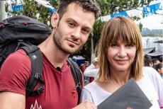 Jedną z par drugiej edycji programu Ameryka Express będzie Grażyna Wolszczak z synem Filipem Sikorą.