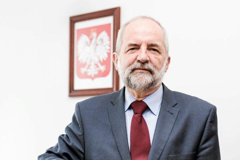 Juliusz Braun, członek Rady Mediów Narodowych, były prezes TVP.