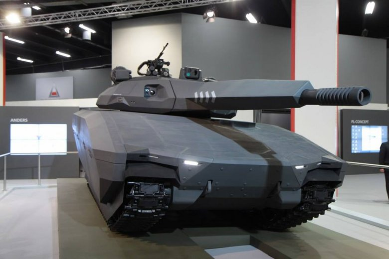 Polski supernowoczesny czołg PL-01 zaprojektowany przez rodzeństwo Sokołowskich