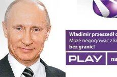 Mem z Władimirem Putinem nie spodobał się rzecznikowi prasowemu sieci Play