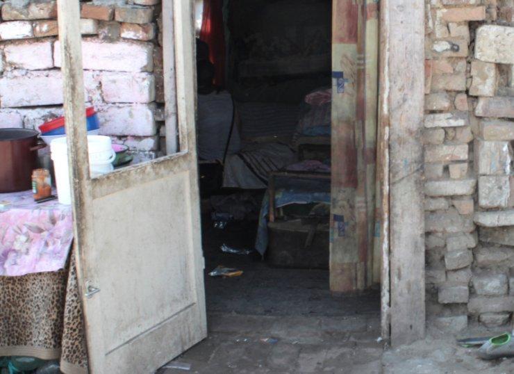 Wejście do domu rodziny Mezei