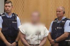 Zamachowiec, który wziął na siebie odpowiedzialność za ataki na meczety w Nowej Zelandii stanął przed sądem.