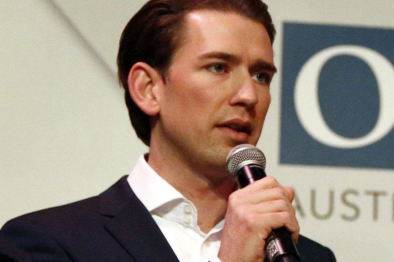 Sebastian Kurtz, szef MSZ Austrii, w wielu 30 lat stanął na czele Austriackiej Partii Ludowej.
