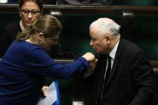 Krystyna Pawłowicz zapowiada odejście z polityki i dziękuje Jarosławowi Kaczyńskiemu za 8 lat wspólnej walki.