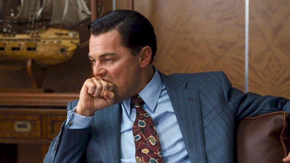 Leonardo di Caprio jako Jordan Belford