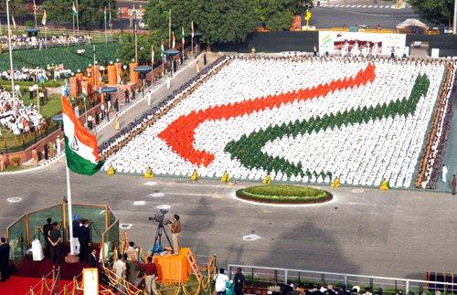 Premier Indii przemawia do narodu - Dzień Niepodległości 15 sierpnia 2007 roku