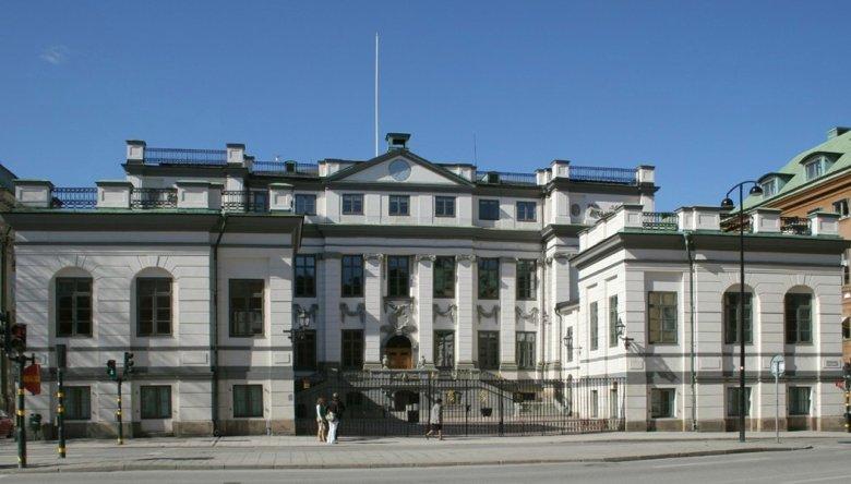 Budynek szwedzkiego Sądu Najwyższego.