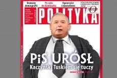 "Fragment okładki ""Polityka"""