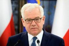 MSZ wyjaśnia, dlaczego minister Czaputowicz wyszedł ze studia RMF FM.