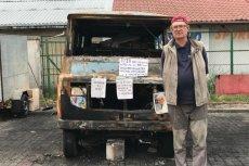 Internauci zebrali wielokrotnie więcej niż potrzeba na nowego żuka dla pana Włodka, w którym od 13 lat sprzedawał w Tczewie książki.