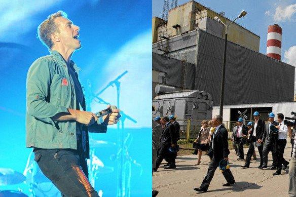 Coldplay wspiera walkę z polskimi elektrowniami węglowymi
