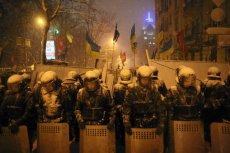 Szturm w Kijowie, zastrzelono jednego z demonstrantów.