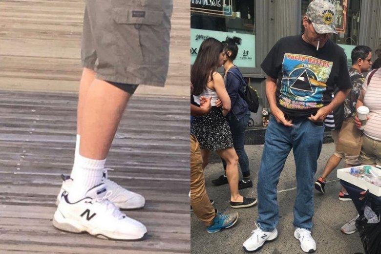"""Wielkie sportowe buty miał w latach 90tych każdy tata. Teraz wracają do łask a pod hashtagiem """"dadshoes"""" znajdziemy ponad 20 tysięcy postów"""
