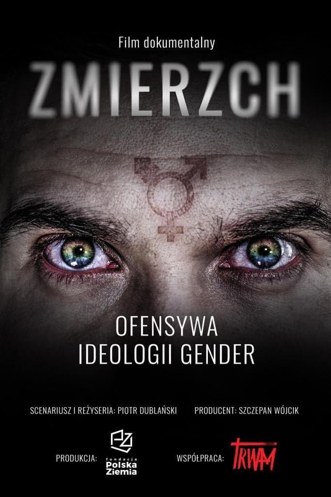 """Plakat filmu """"Zmierzch. Ofensywa ideologii gender""""."""