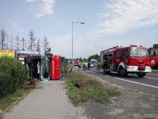 Kierowca Polskiego Busa nie zachowałostrożności