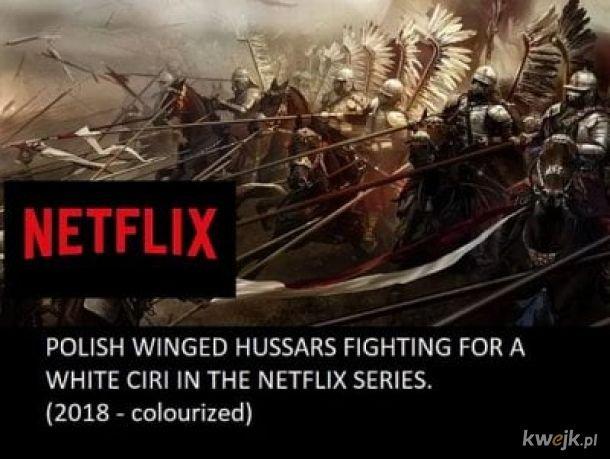 Polska husaria walczy o białą Ciri w serialu Netflixa