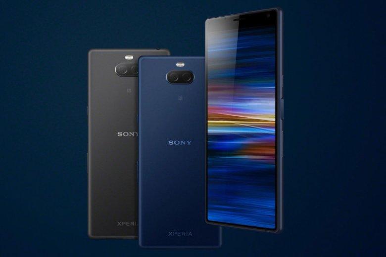 Smartfon Sony Xperia 10 wyposażono w ekran panoramiczny 21:9 o przekątnej 6 cali