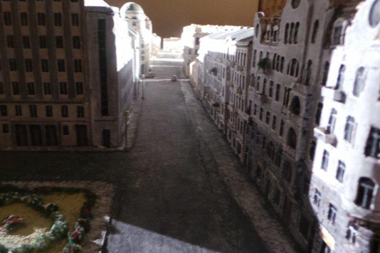 Przedwojenny wygląd ulicy Świętokrzyskiej