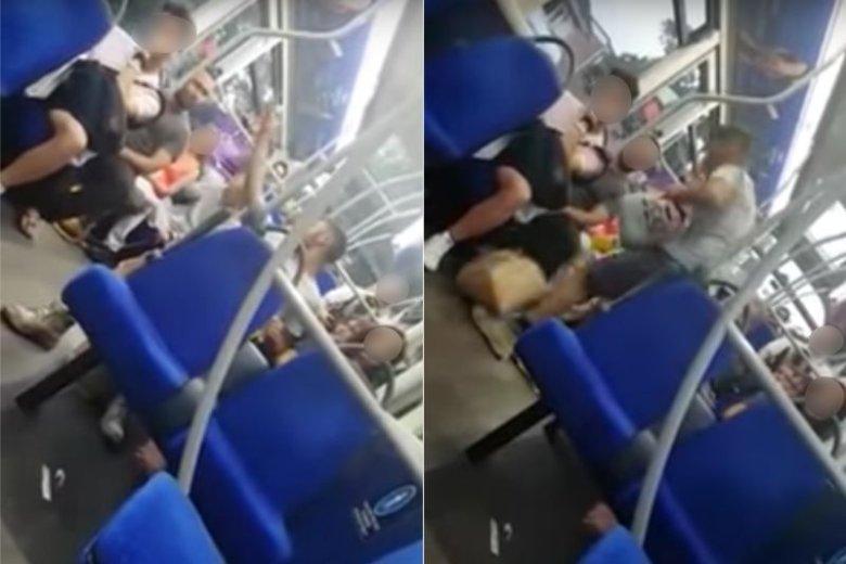 Szokujące nagranie z autobusu obiegło internet