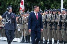 Andrzej Duda poświęcił dużo uwagi Wojskom Obrony Terytorialnej.