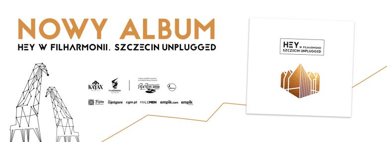 Płyta Hey nagrana w Filharmonii w Szczecinie