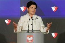 Beata Szydło ogłasza w 2016 r. powstanie Polskiej Fundacji Narodowej.